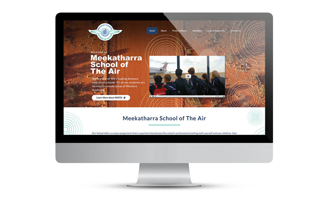 MSOTA Website Design Layout