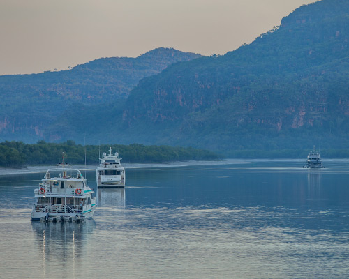 Boats in the Kimberley