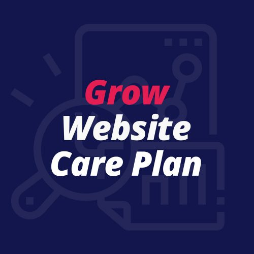 Grow Website Care Plan