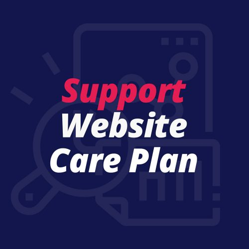 Support Website Care Plan