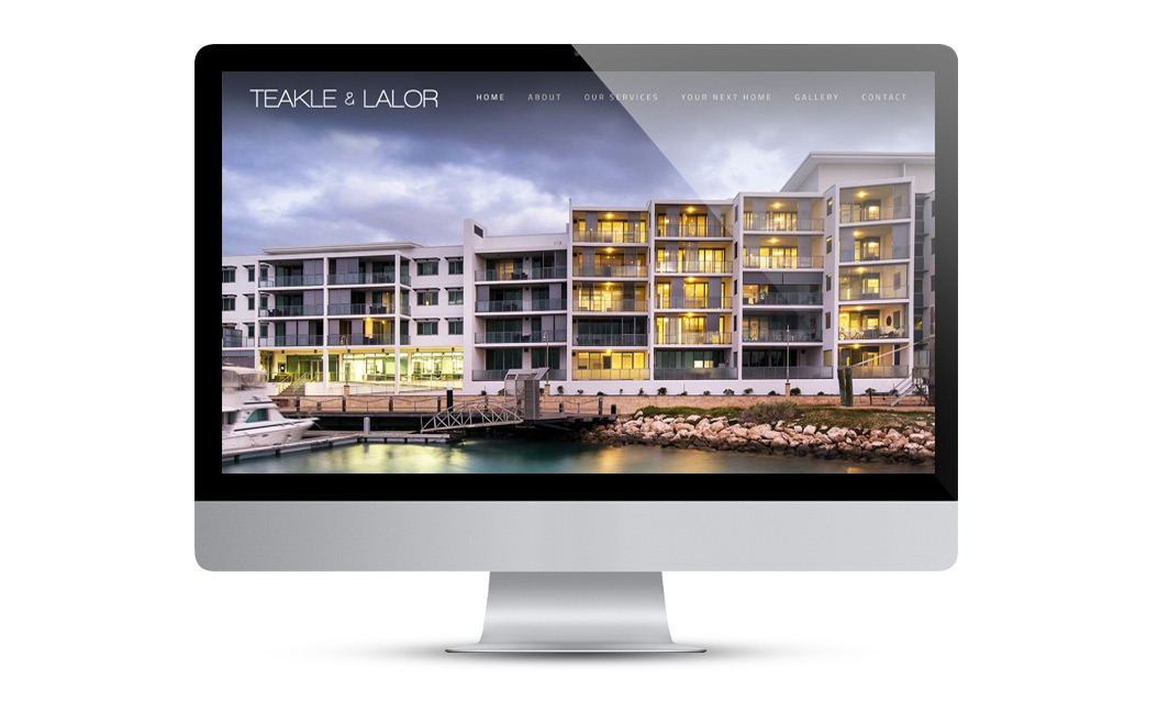 Teakle & Lalor website design